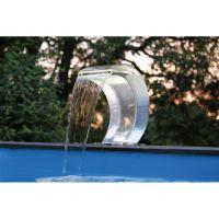 Ubbink Mamba Acryl RVS Waterval met led verlichting