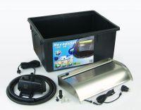 Ubbink Waterval Nevada LED 60 cm set inclusief pomp Xtra 3900, Quadra 1 en accessoires