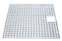 Afdekrooster Gegalvaniseerd staal 100 x 100