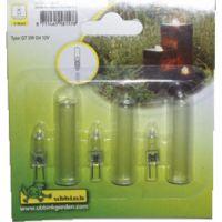 Set Reserve lampjes Helogeen + kapjes (3 stuks)