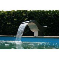 Ubbink Birdie RVS Waterval met led verlichting