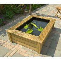 Ubbink Quadro 6 houten ombouw Wood 2 (147 x 103 x 33 x 47 cm)