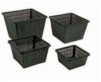 Vierkante vijvermand 28 x 28 cm (ook geschikt voor plantenfilters)
